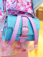 MY LITTLE CANDY RIBBON LAME HAND BAGの画像