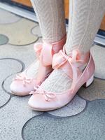ballet ribbon shoesの画像