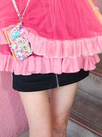 ラインZIPスカートの画像