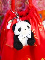 パンダのキーホルダーの画像