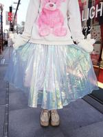 オーロラプリーツスカートの画像