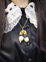 melt cherry necklaceの画像