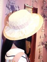 ドットチュールカンカン帽の画像