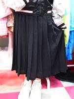 プリーツスカートの画像