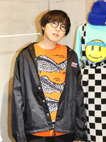 RRR LOGO COACH JACKETの画像