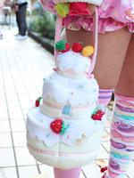 ケーキ型バッグの画像