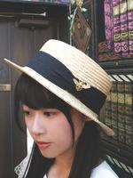 クイーンビーカンカン帽の画像