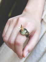 ハチ ト ミツ スプーンリングの画像