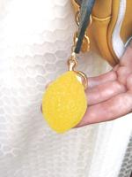レモン パート ドゥ フリュイバッグチャームの画像