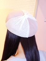 チュールリボンベレー帽の画像