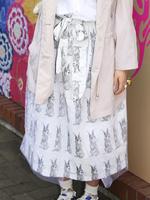 ロングスカートの画像