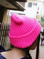 ニット帽の画像
