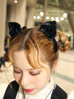 猫耳ピンの画像