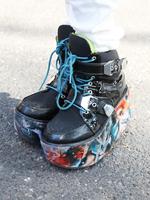 厚底ブーツの画像