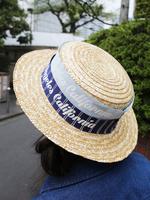 カンカン帽の画像