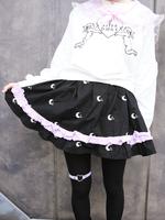 milklim good night シリーズ キャザースカートの画像