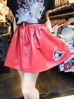 メリケンギャングフェイクレザースカートの画像